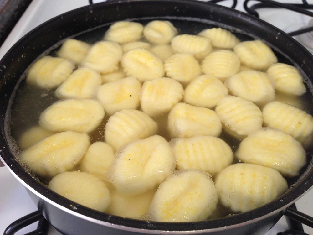 cuocere gnocchi