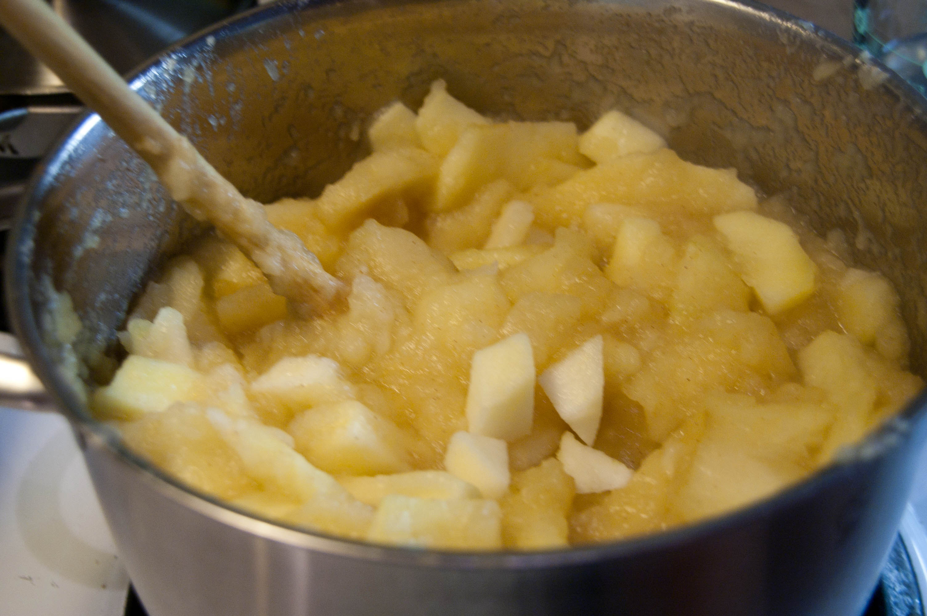 cuocere le mele