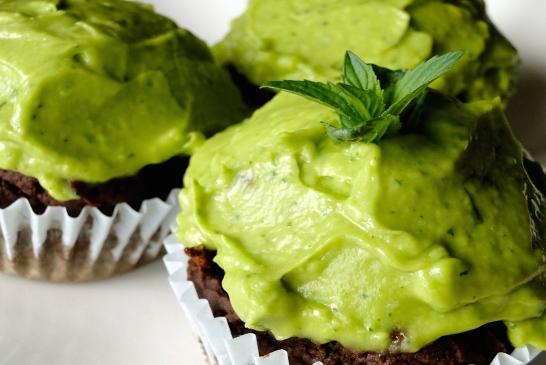 cupcakes avocado