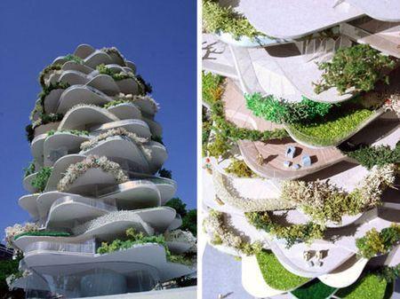 architettura sostenibile cactus rotterdam
