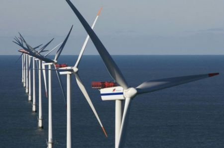 Energia eolica, record per l'off shore europeo