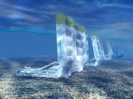 Sfruttare l'energia delle onde con Aquamarine Power