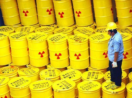 nucleare scorie radioattive miniera asse