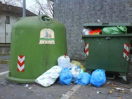 raccolta differenziata roma cassonetti verdi
