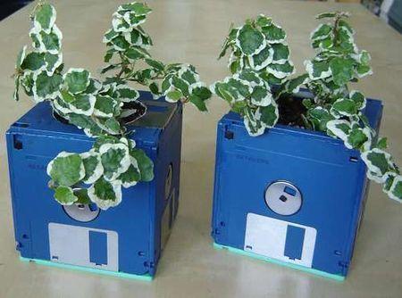 riciclaggio usi creativi floppy disk
