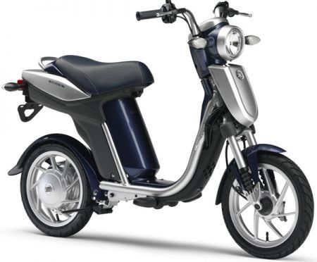 Lo scooter elettrico che si ricarica in casa