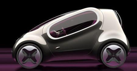 auto elettriche kia pop salone parigi