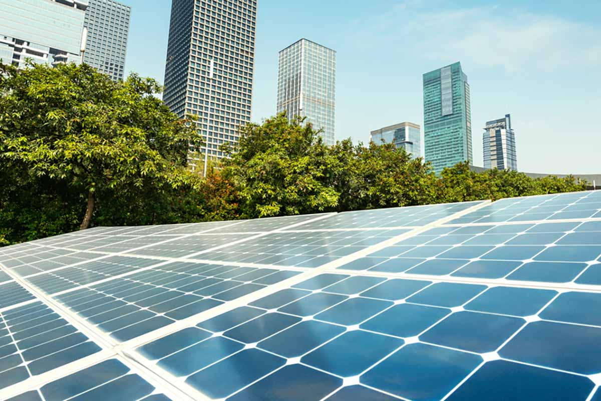 Pannelli solari autopulenti