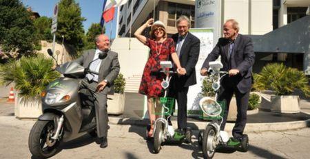 scooter elettrico marche energia solare