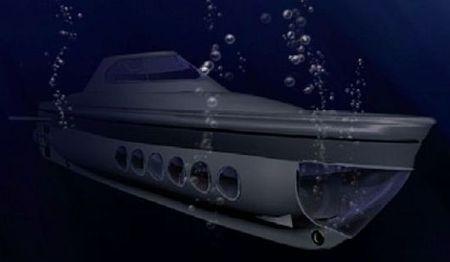 veicoli elettrici sottomarino ricaricabile