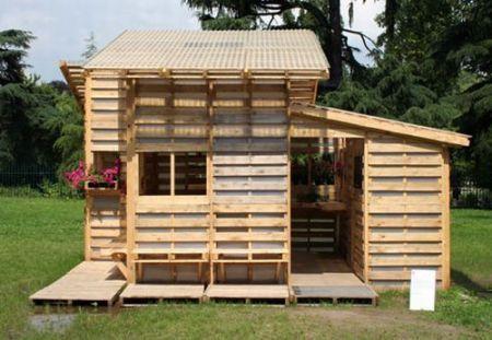architettura sostenibile costruzioni con pedane