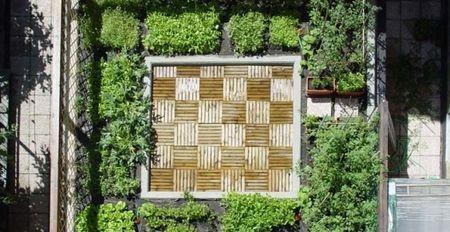 architettura sostenibile orto terrazza torino