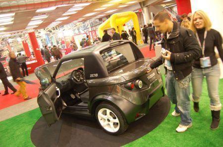 Auto elettriche, la Tazzari Zero sbarca nel Regno Unito