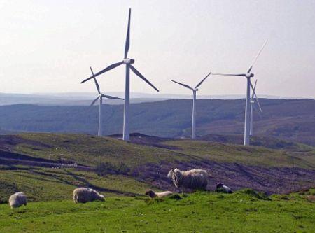 Energia eolica, il 10pc dei consumi britannici trova risposta nel vento