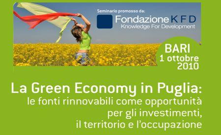 energie rinnovabili seminario green economy puglia