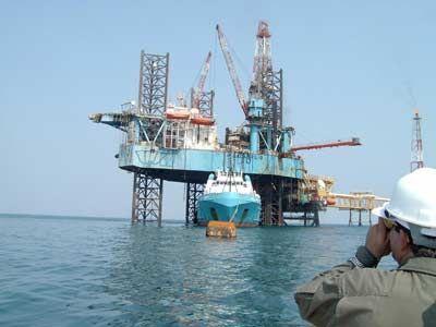 Piattaforma petrolifera nel Golfo del Messico.