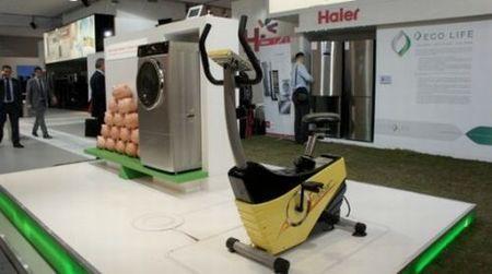 risparmio energetico lavatrice a pedali