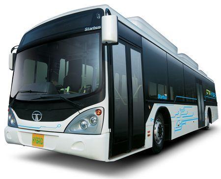 veicoli ecologici autobus ibridi india
