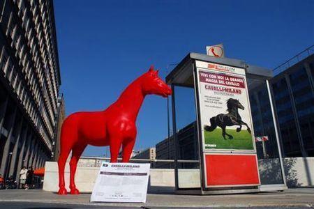 riciclaggio creativo cavalli ecoplastica milano