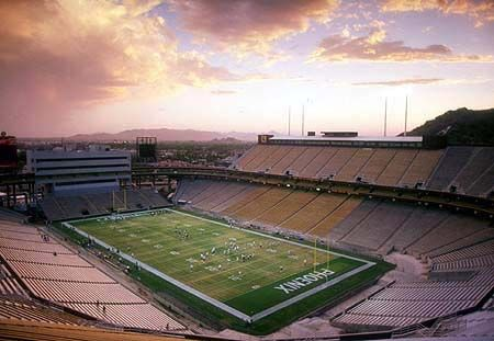Stadio ecocompatibile in Arizona