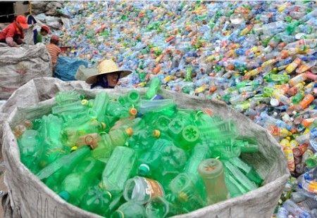 green economy plastica riciclata