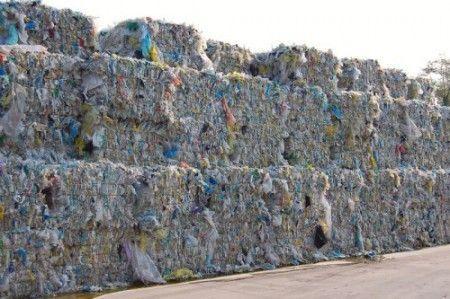 Impianto per il riciclo della plastica da record