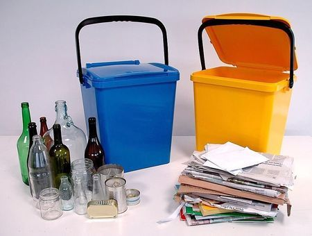 spazzatura raccolta differenziata