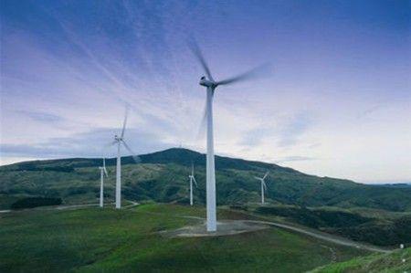 Impianto eolico in Nuova Zelanda
