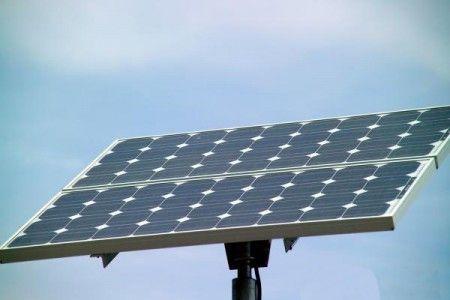 energia solare impianto galles sharp