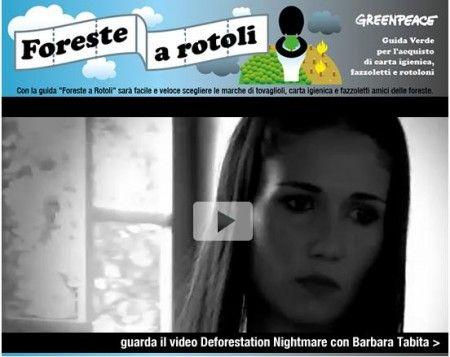 greenpeace foreste a rotoli