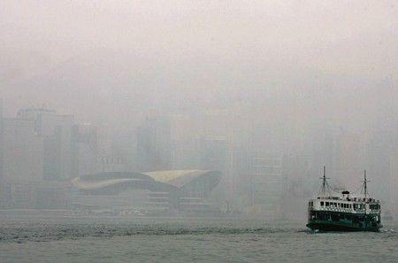 Inquinamento ad Hong Kong