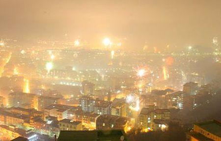 botti capodanno inquinamento aria