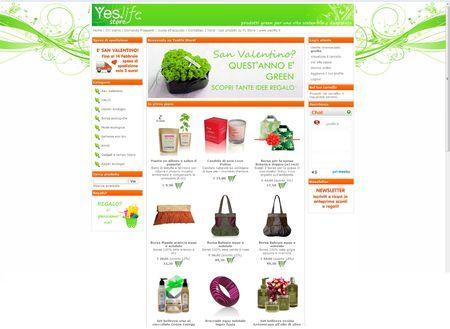 prodotti eco chic portale vendita online yeslife it