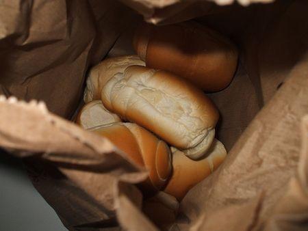 risparmio casa riutilizzare sacchetti pane