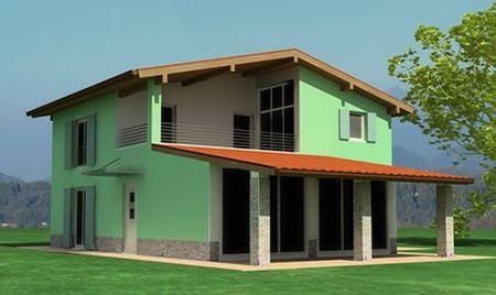 casa ecologica ambiente