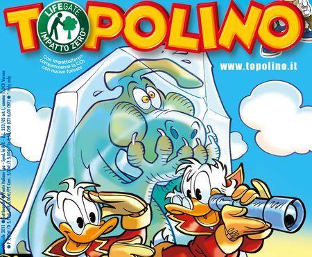 topolino impatto zero earth day fumetti green