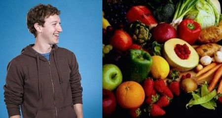 mark zuckerberg vegetariano