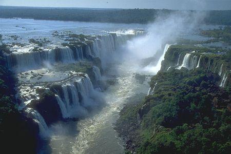 riserve naturali mondo cascate Iguazu