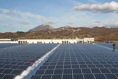 impianti fotovoltaici butterfly efficienza moduli solari