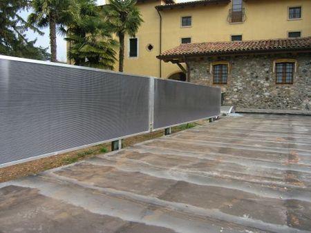 solare termico siepe fotovoltaica pannello solare solareva