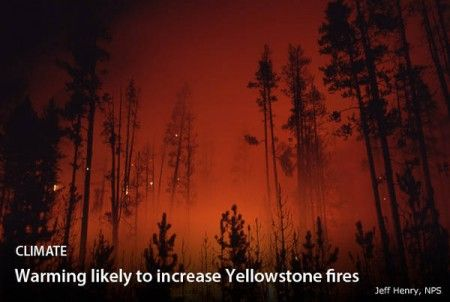 cambiamenti climatici parco naturale Yellowstone