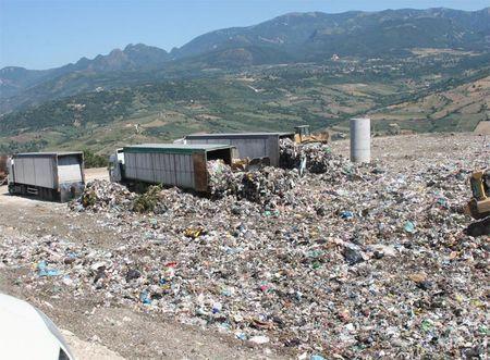 impatto ambientale discarica la filippa