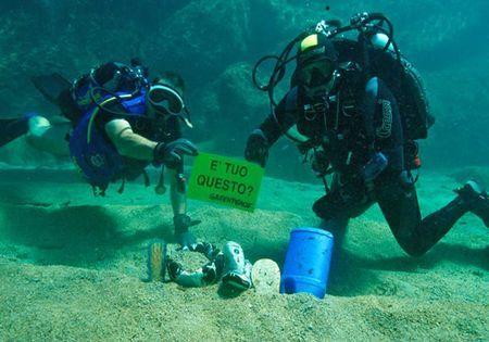 mar mediterraneo rifiuti greenpeace