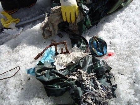 smaltimento rifiuti alta montagna pakistan