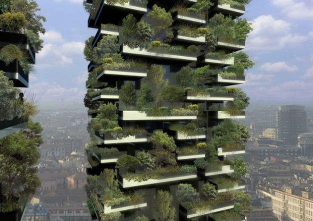 bosco verticale milano riforestazione urbana
