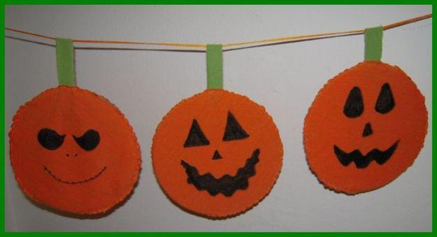 lavoretti halloween riciclo creativo cd zucche