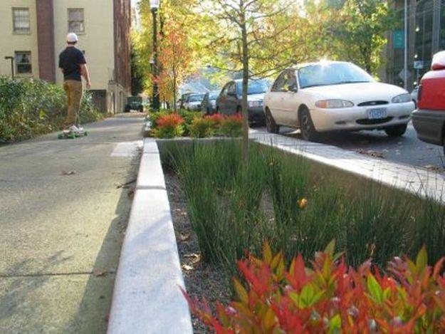 strade verdi portland recupero acqua piovana