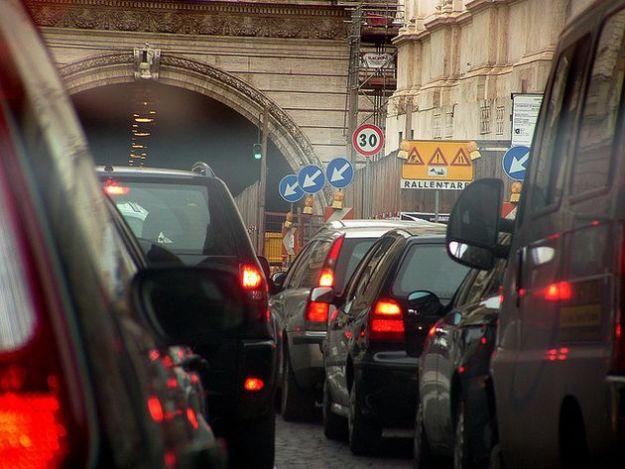 targhe alterne roma smog