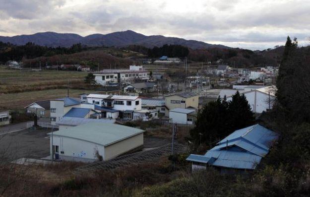 La situazione vicino a Fukushima