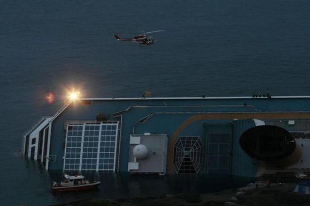 naufragio costa concordia chiazze danno ambientale